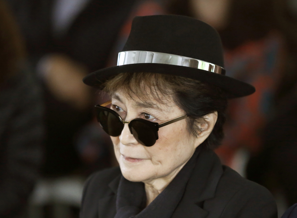Preliminary reports that Yoko Ono, widow of the late Beatle, suffered a stroke last week are erroneous, said her son and a representative.