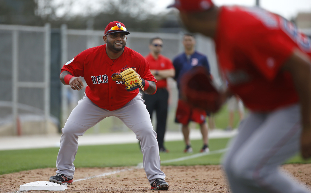 "His belly might be growing and his production might be declining, but Pablo Sandoval says he can still be a key player for the Red Sox. Well, that's what he said after telling reporters he has nothing to prove, even when a statistical analysis by Fangraphs ranked Sandoval's effort in 2015 as ""the worst season of any major leaguer."""