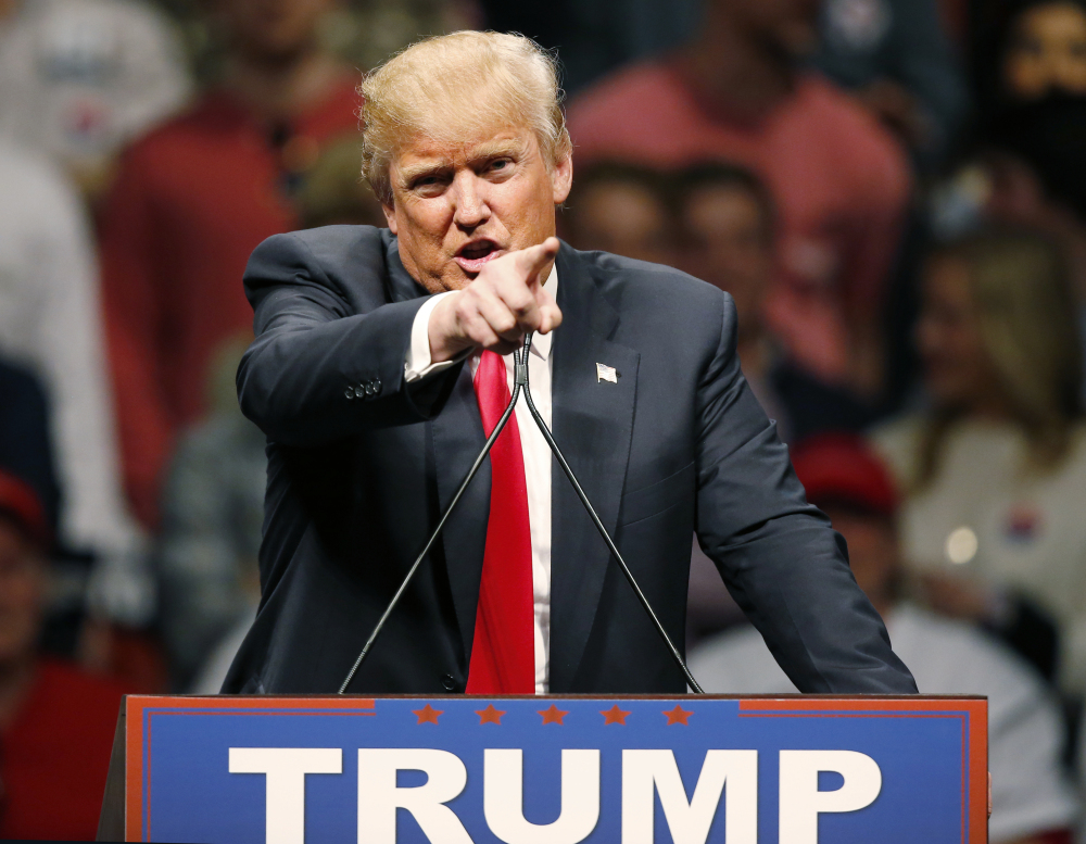 Republican presidential candidate Donald Trump will visit Portland on Thursday.