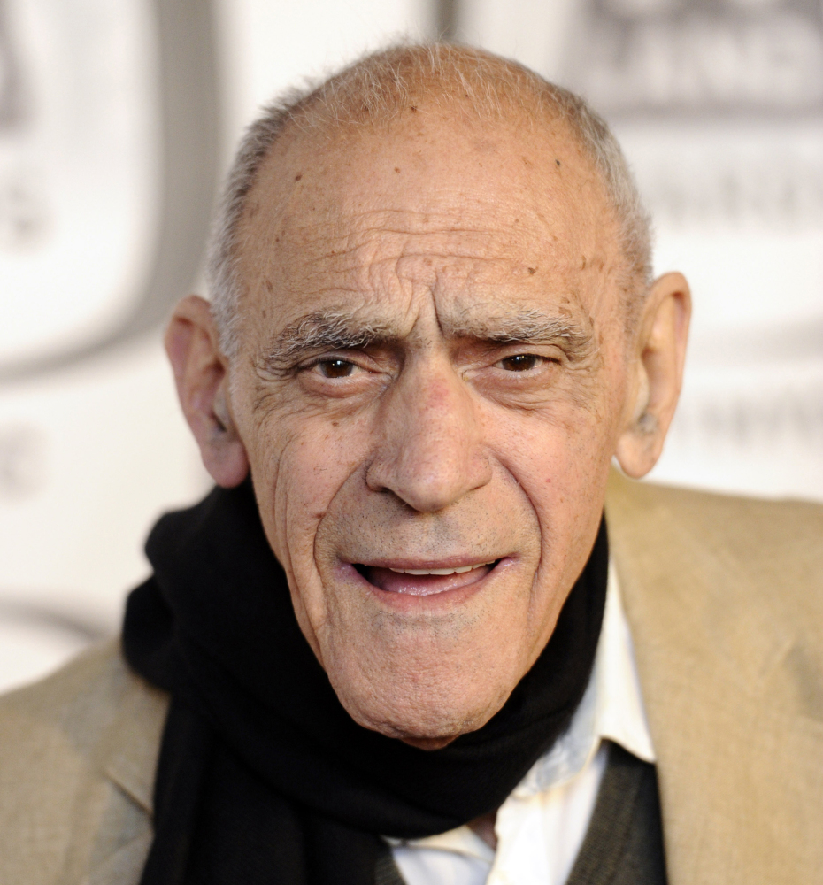 In an April 10, 2011, file photo, actor Abe Vigoda arrives at the 2011 TV Land Awards in New York. Famously long rumored to be dead, beloved character actor Vigoda died for real in January 2016 at age 94.