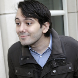 Former Turing Pharmaceuticals CEO Martin Shkreli arrives at court in New York, Feb. 3, 2016. Shkreli, who became a symbol of pharmaceutical-industry greed after hiking the price of an anti-infection drug by more than 5,000 percent, also appeared at a congressional hearing on the issue that month.