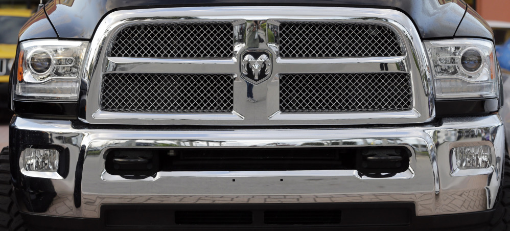 February new-vehicle sales soared 27 percent for Fiat Chrysler's Ram brand, which includes the Dodge Ram 3500 Heavy Duty pickup above.