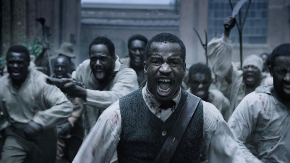 "A scene from ""The Birth of a Nation."""