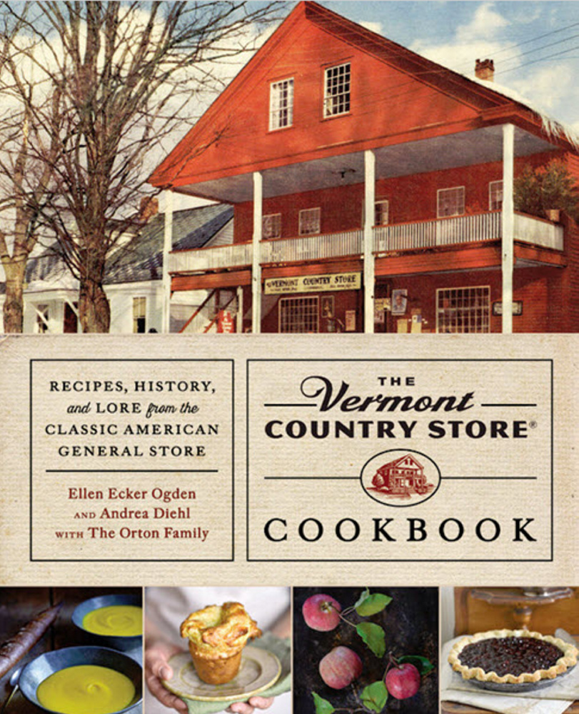 'The Vermont Country Store Cookbook' is a lively read on the history of both the Orton family and the store.   Courtesy photo