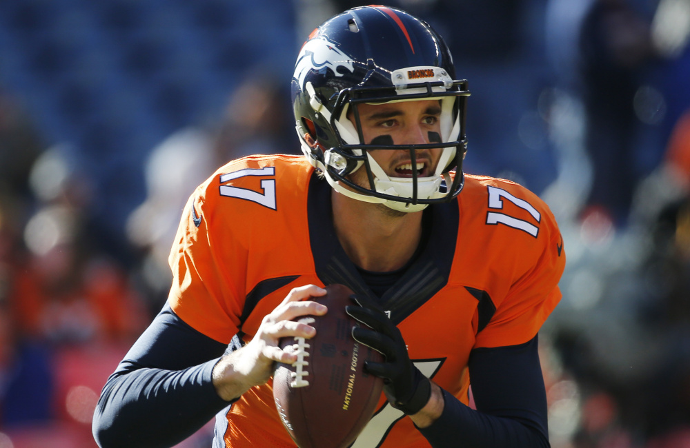 Brock Osweiler, the Houston Texans' failed-so-far $72 million man, faces off with the Oakland Raiders QB Connor Cook, a rookie third-stringer who will make his first NFL start because of injuries to not one, but two Oakland Raiders quarterbacks.