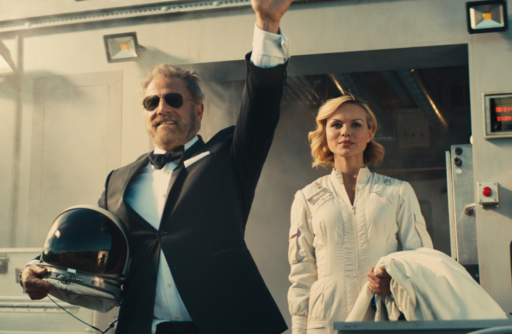 In his last Dos Equis commercial, actor Jonathan Goldsmith is shipped off in a rocket on a one-way trip to Mars, where he would be the planet's most interesting – and only – man.