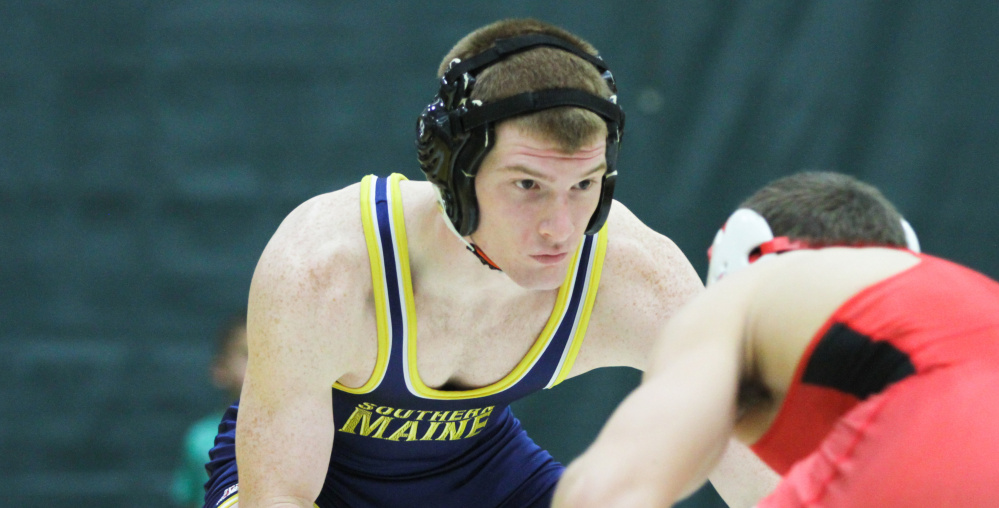 University of Southern Maine junior Dan Del Gallo has had another standout season on the mat, as the Gardiner graduate qualified for the Divison III national championships for a second straight season.