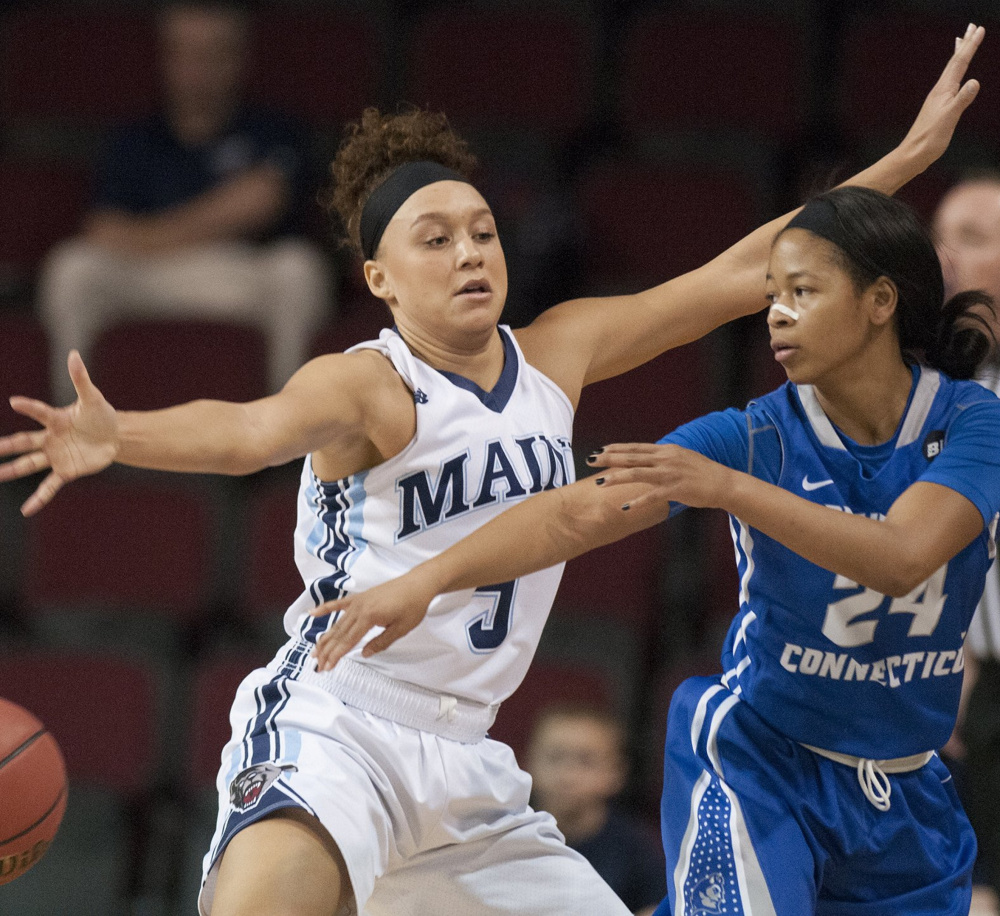 Bella Swan will be so important Friday for UMaine, helping to defend Shereesha Richards, who averages 23.5 points per game for Albany.