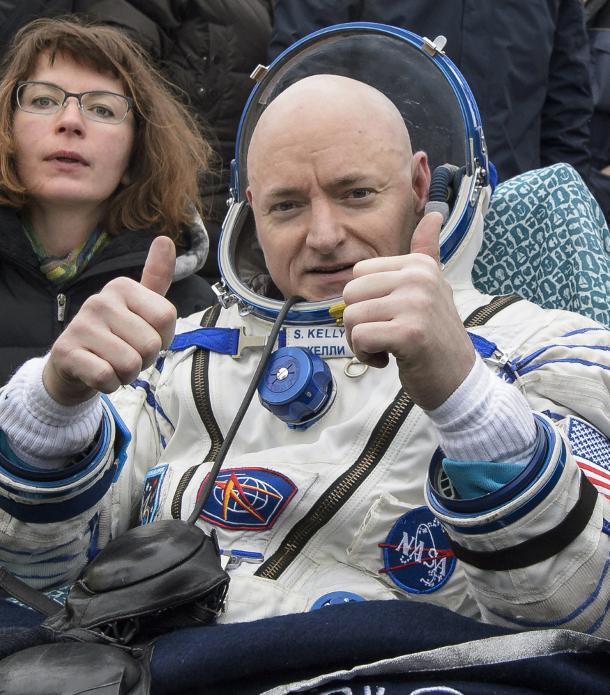 Scott Kelly recently returned home after 340 days on the International Space Station.