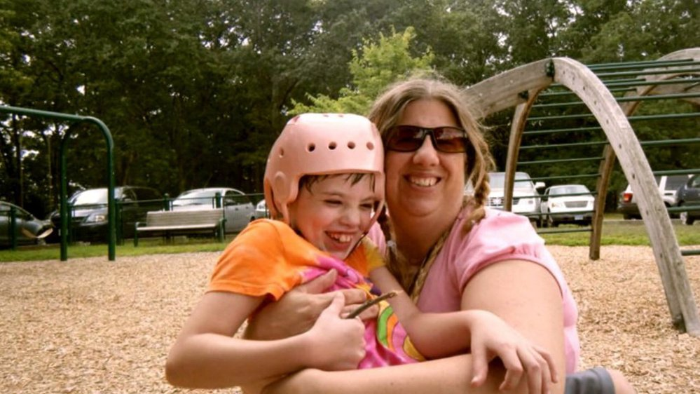 Cyndimae Meehan is shown with her mother, Susan Meehan. (WCSH photo)