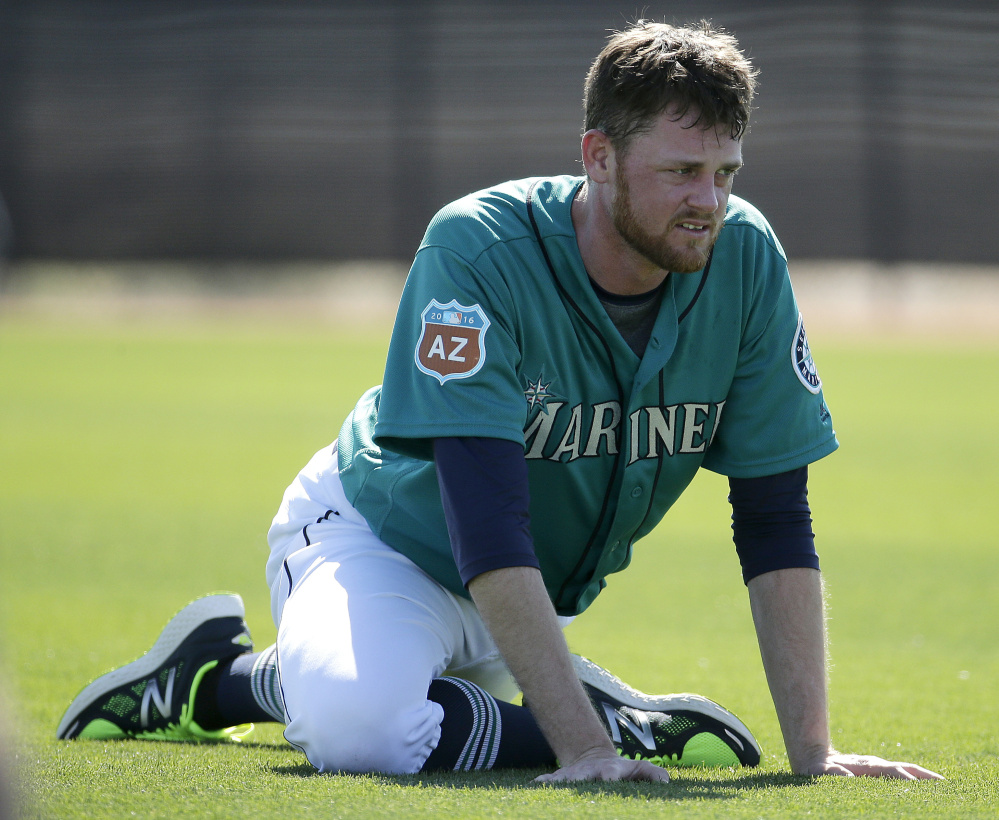 Charlie Furbush, a South Portland native, has not been able to pitch since March 7 for the Seattle Mariners as he recovers from tightness in his triceps muscle.