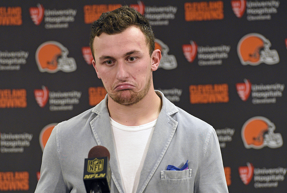 Johnny Manziel faces an uncertain future in the NFL and potential criminal charges in Texas following a domestic violence incident. The Associated Press