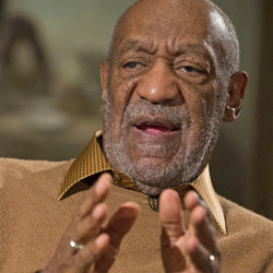 Bill Cosby takes part in  an interview at the Smithsonian's National Museum of African Art in this Nov. 6, 2014, photo. The Associated Press