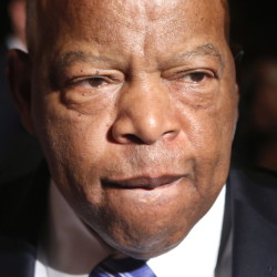 U.S. Rep. John Lewis, D-Ga., delivered the 2016 commencement address at Bates College in Lewiston.