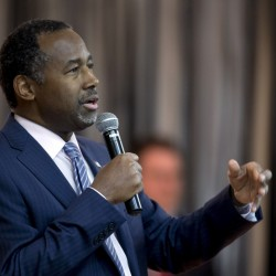 Former Republican presidential candidate Ben Carson.