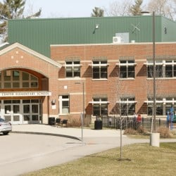 Buxton Center Elementary School is shown Friday.