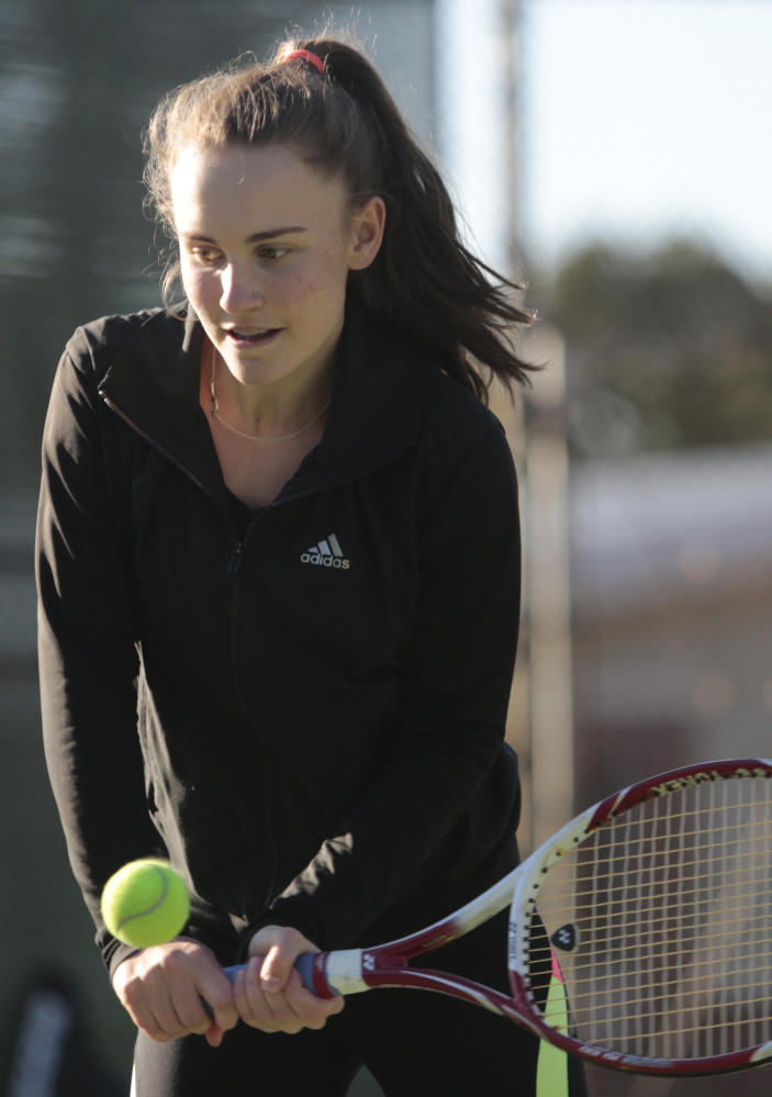 Lana Mavor of Yarmouth is ranked 33rd in the nation for 14-and-under girls, and No. 1 in New England.