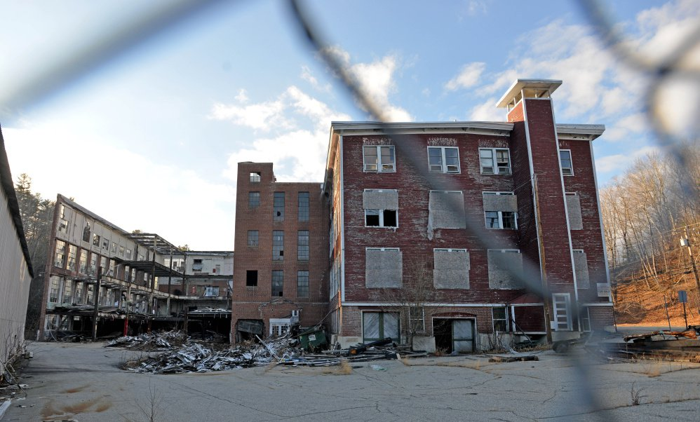 The town of Wilton has been granted $200,000 from the U.S. Environmental Protection Agency to help clean up the Forster Mill on Depot Street. Michael G. Seamans/Staff Photographer