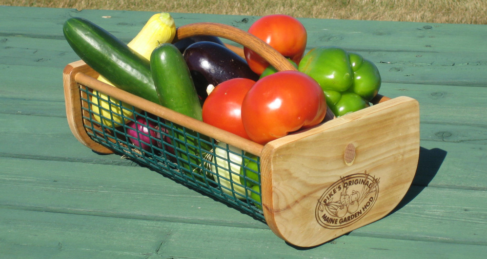 Prepare for the harvest with Pikes Original Maine Garden Hod
