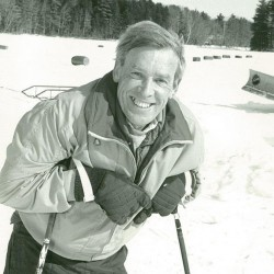 John Christie at Washington Pond in the 1990s. He was remembered as an outgoing, energetic presence.