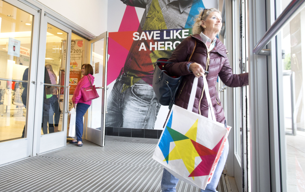 Macy's shoppers may smile at good deals but the outlook isn't so happy for the company, which expects sales declines that could force store closures with a ripple effect for malls.