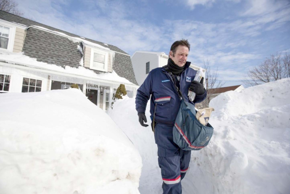 Snow and other bad weather aren't the only hazards mail carriers face. There's also a threat from protective dogs.
