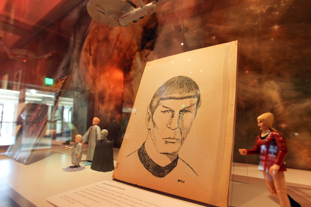 Seattle's EMP Museum is shining the spotlight on plenty of memorabilia and on the cultural influence of