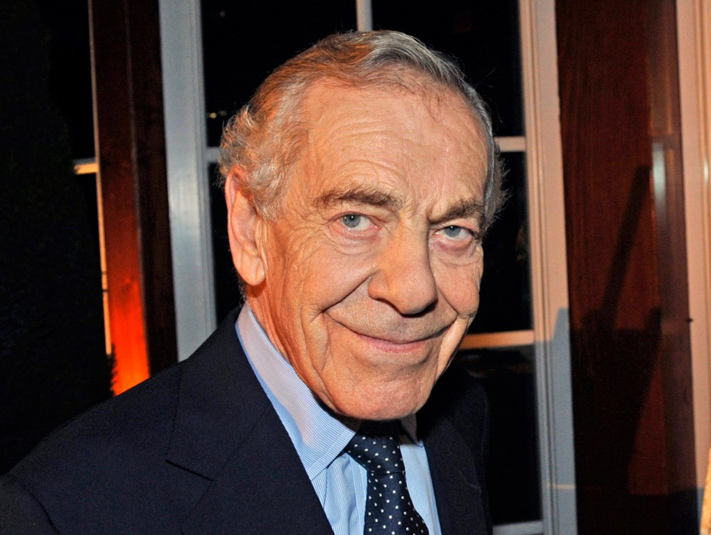Morley Safer said farewell Sunday, May 15 as he was honored by