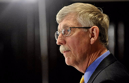 NIH Director Francis Collins said he will replace the NIH hospital's longtime leadership with a new management team with experience in oversight and patient safety. Photo by Jay Mallin / Bloomberg.