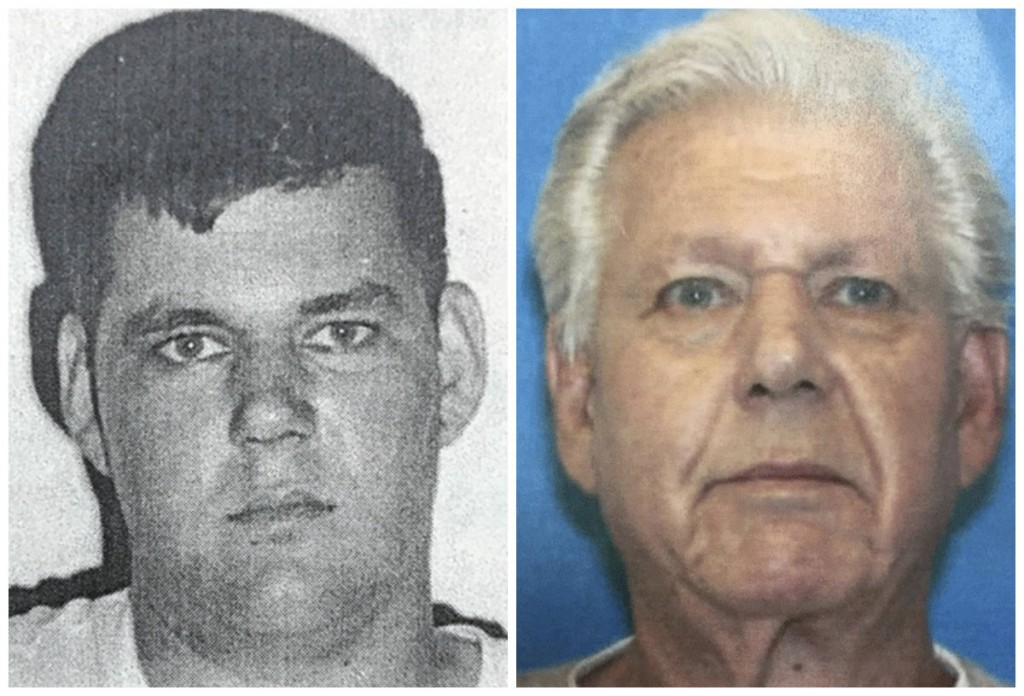 At left is a 1966 photo of Robert Stackowitz, who escaped from a Georgia prison work camp 48 years ago. At right is a current photo of Stackowitz, who was arrested Monday in Connecticut.