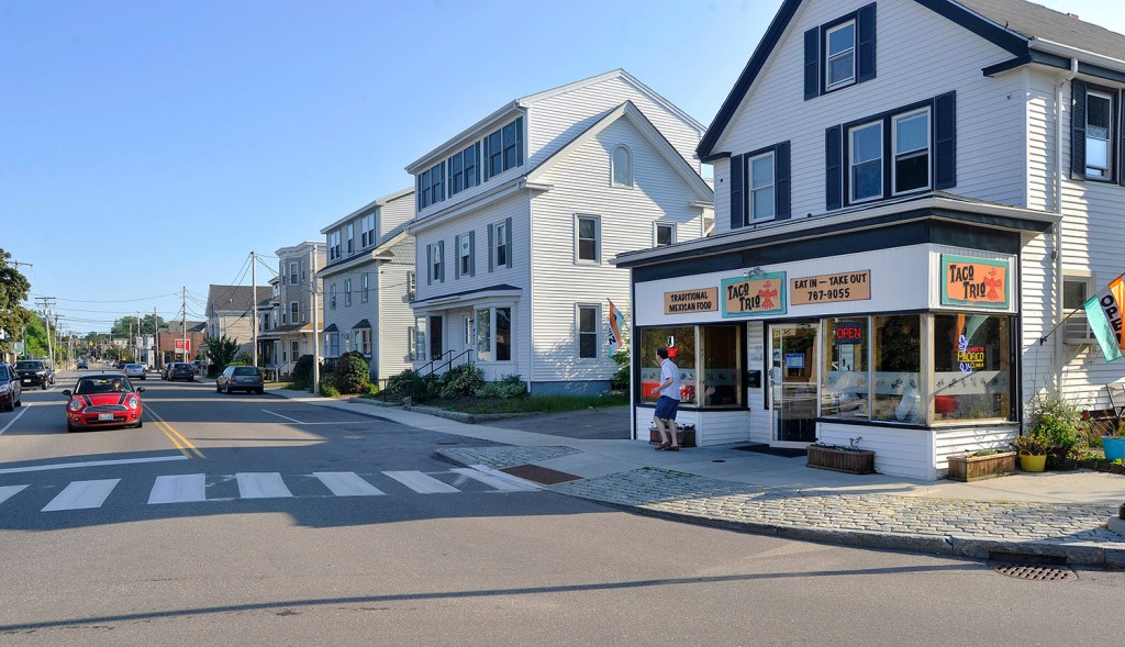 South Portland's Mill Creek neighborhood, including Ocean Street, is facing possible zoning and ordinance changes.  John Ewing/Staff Photographer