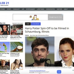 Fake News story   Harry Potter Spin-Off to be Filmed in Schaumburg, Illinois