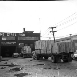 The Maine State Pier in 1958.