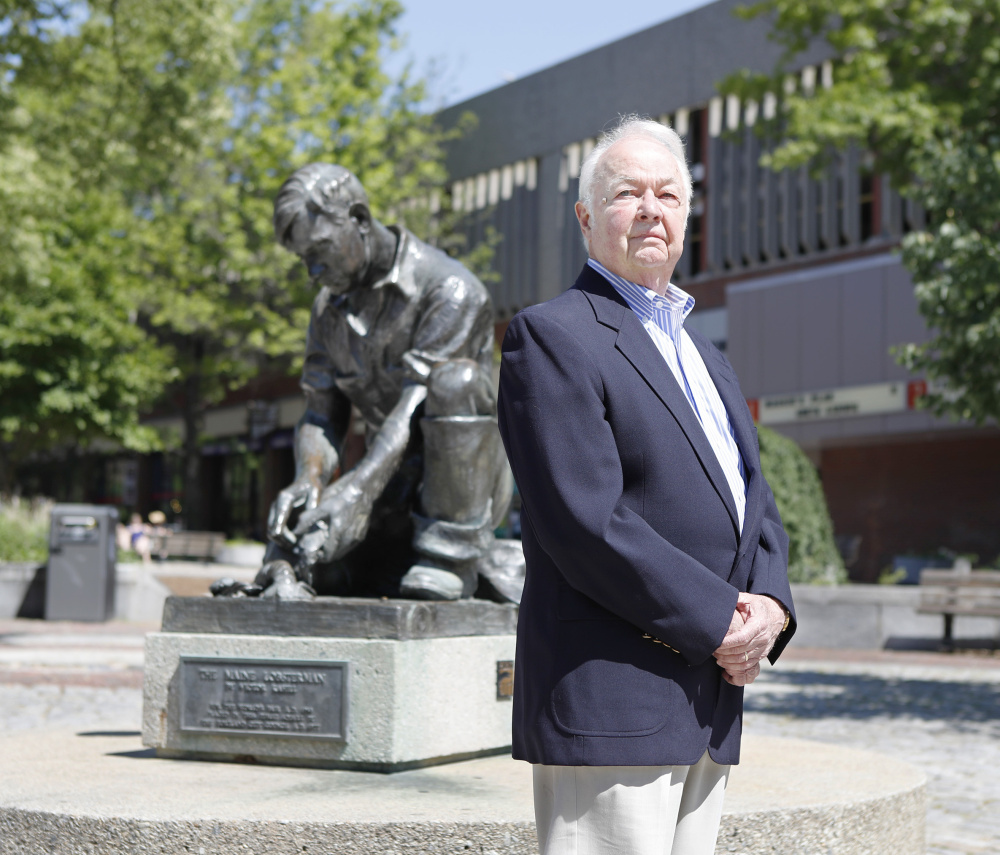 Now 80, John Menario oversaw much of Portland's redevelopment his tenure as city manager from 1967 to 1976.