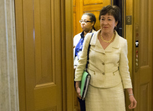 Maine Sen. Susan Collins is expected to unveil Tuesday a compromise proposal on preventing gun sales to suspected terrorists. Story, Back Page