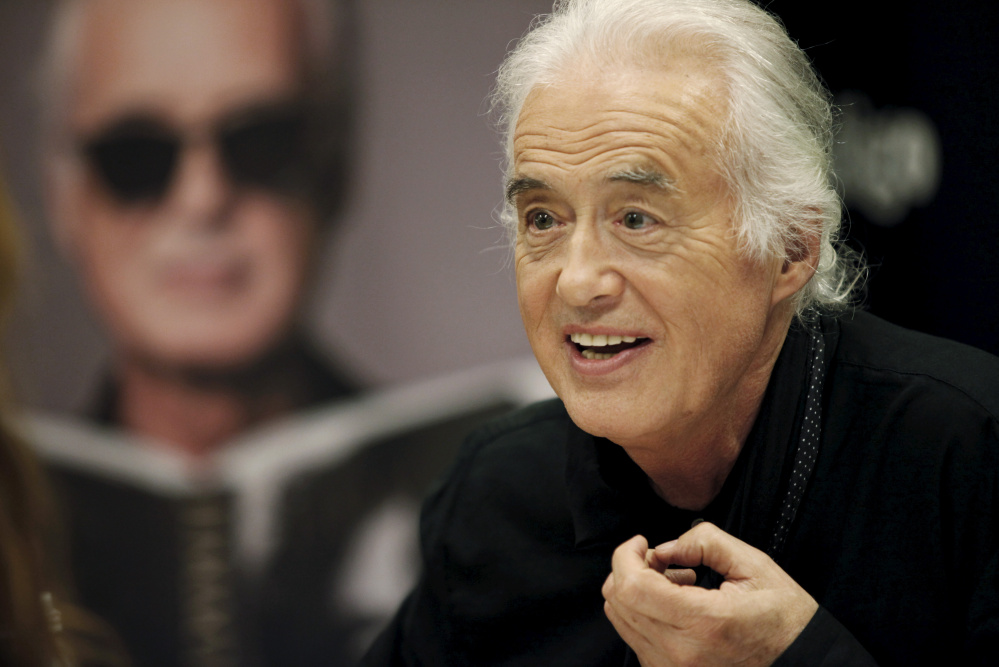 Jimmy Page is accused of stealing a guitar riff from late songwriter Randy Wolfe, also known as Randy California, while writing the hit song