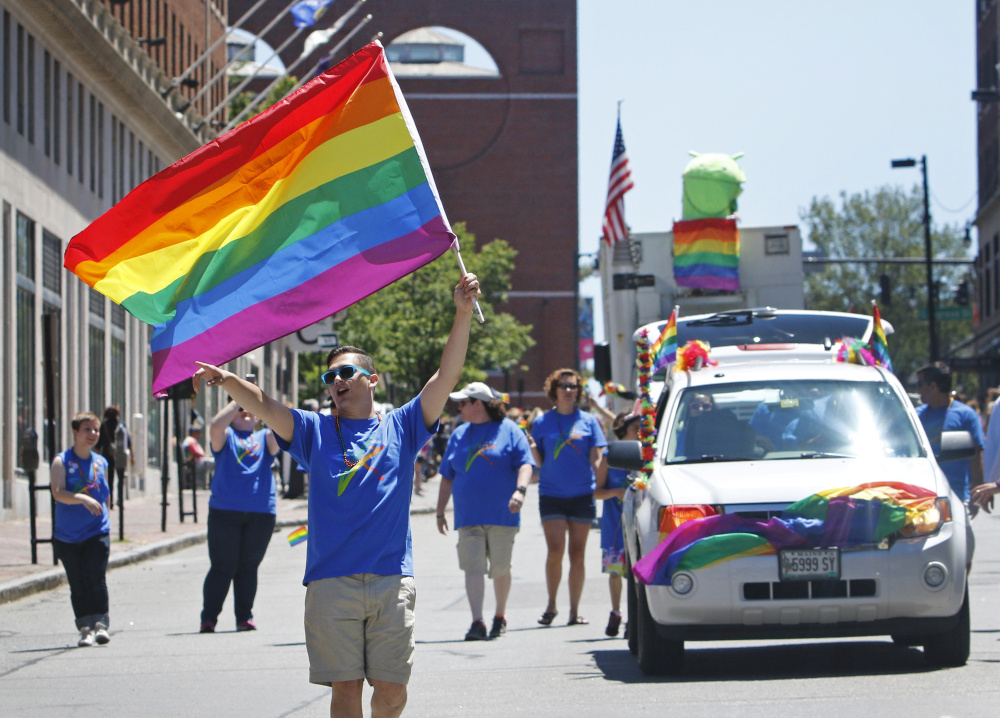 The use of this photo to illustrate Pride Portland parade coverage in the Telegram's print edition suggests that few people marched, a reader says.