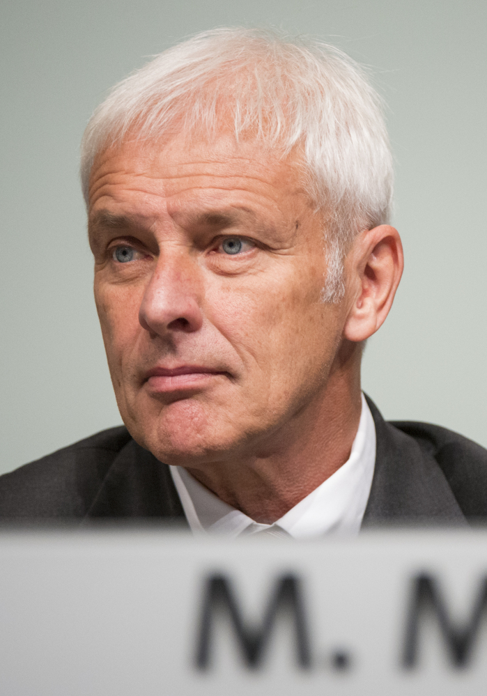 VW CEO Matthias Mueller in Hanover, Germany on Wednesday said,
