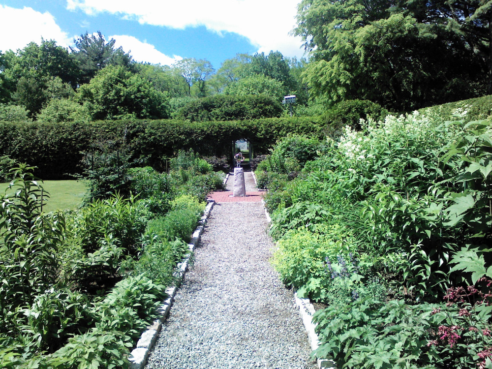 Garland Farm's gardens may be toured by the public whether the Bar Harbor farm is open or not.