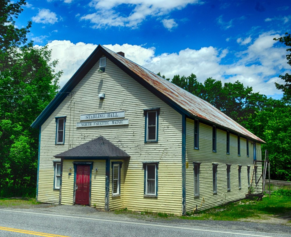 A community group is working to raise money to renovate Starling Hall in Fayette, which was recently added to the National Register of Historic Places.