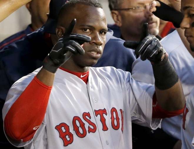 Rusney Castillo is one of the international free agents who came at a high cost and hasn't paid off. Castillo cost the Red Sox $72.5 million just two years ago, and today he's trying to save his career.