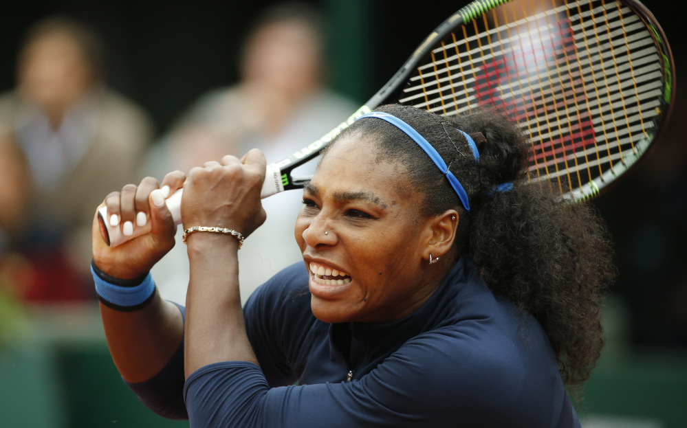 Serena Williams came within two victories of winning all four major titles last year but hasn't won a major since taking Wimbledon a year ago. She remains one short of Steffi Graf's record of 22 major titles.