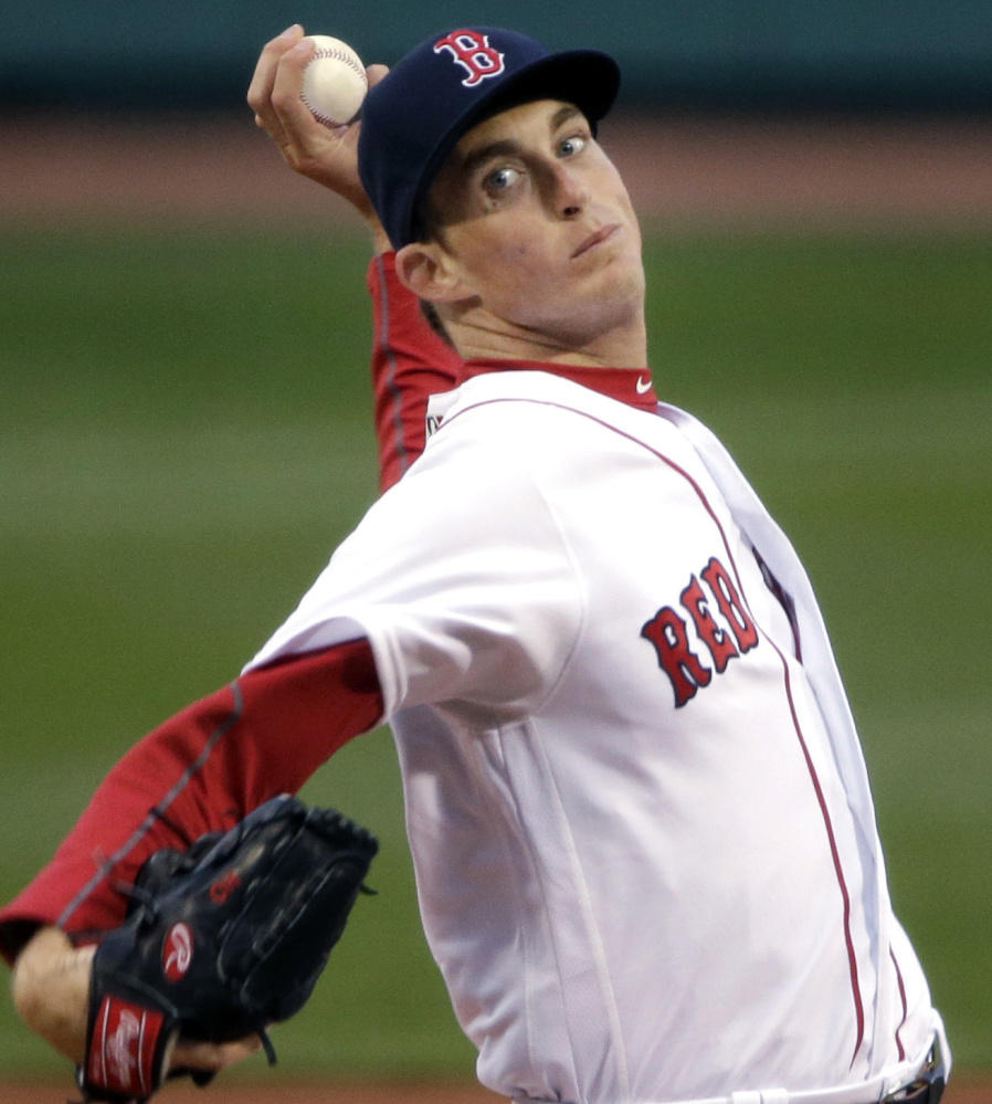 Henry Owens hasn't shown enough consistent control at Pawtucket to show he's ready to help the Red Sox, and the Red Sox are a team in desperate need of solid starting pitching.