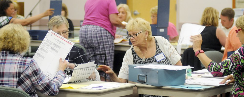 Ballot counters get to work Tuesday on the recount for the 1st Congressional District race between Mark Holbrook and Ande Smith. The hand-counting process is expected to take three to four days if the Ande Smith campaign requests that all ballots be recounted.