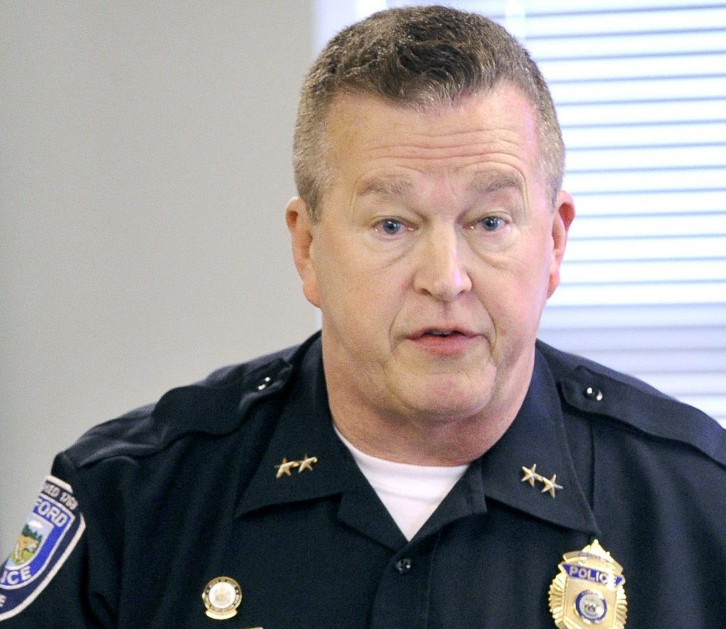 Police Chief Thomas Connolly, seen at the Sanford police station in 2012, said Tuesday in response to six suspected overdoses,