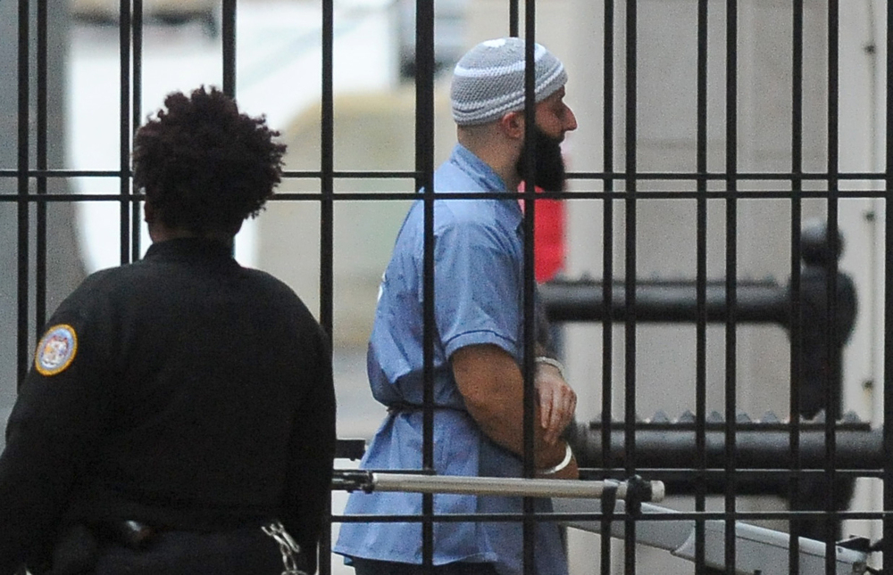 Adnan Syed, who was convicted of murder and who is at the center of the podcast