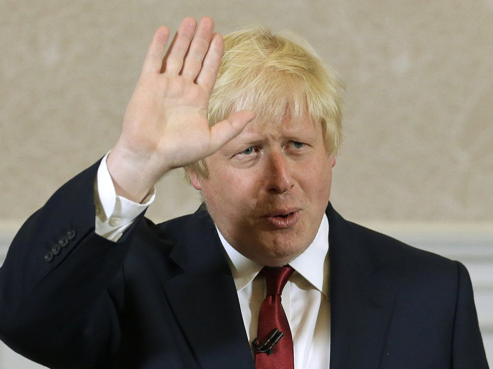Associated Press photos Former London Mayor Boris Johnson, above, says he will not run for  leadership of Britain's Conservative Party after Michael Gove, left, withdrew his support.
