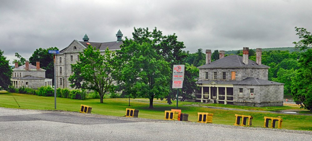 The developer working to revitalize the Kennebec Arsenal in Augusta said he was forced to block roads into the property because of illegal activity.