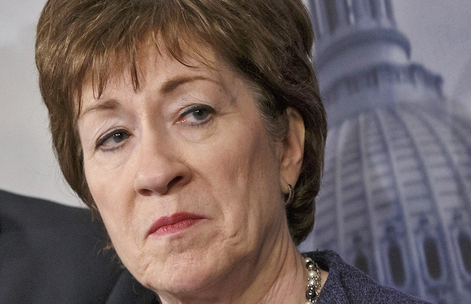 """Sen. Susan Collins, R-Maine: """"Mr. Trump's comments demonstrate both a lack of respect for the judicial system and the principle of separation of powers."""""""