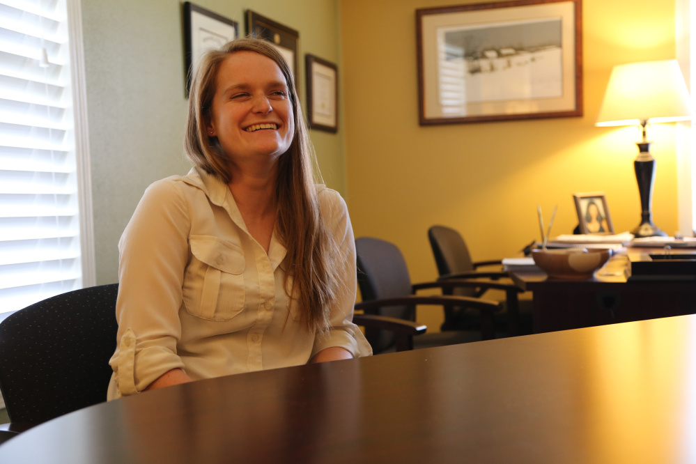Unity College student Rae-Ann MacLellan-Hurd received a $50,000 fellowship from the Environmental Protection Agency.